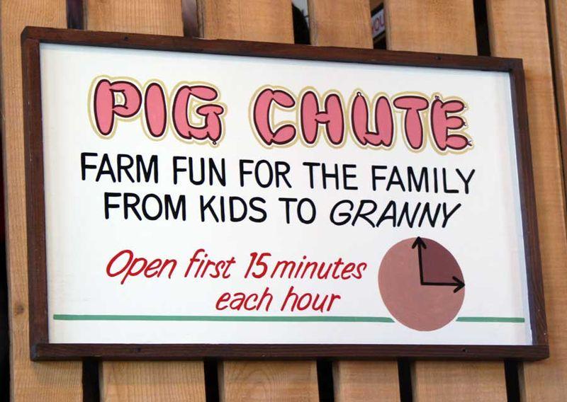 Pig-chute
