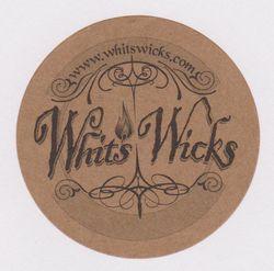 Whits Wicks Sticker logo