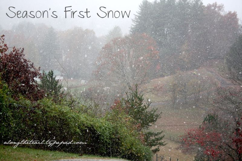 First snow 10
