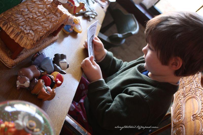 Nativity toy