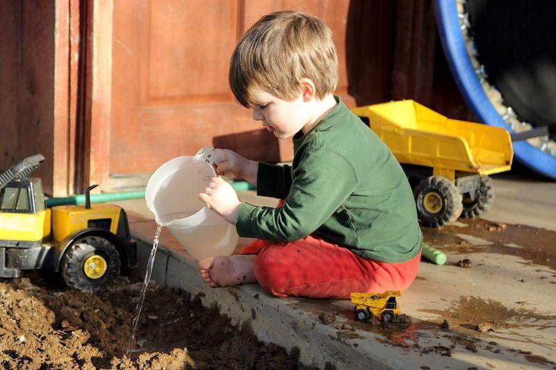 Soil watering