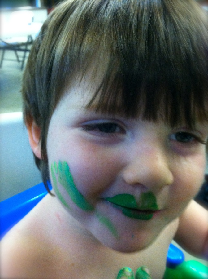 Paint me green