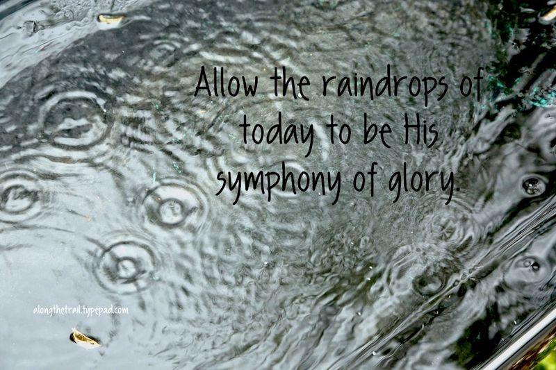 Rainy Day Symphony of Glory
