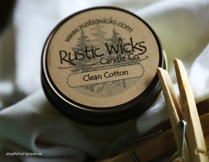 Rustic Wicks Candle Cotton