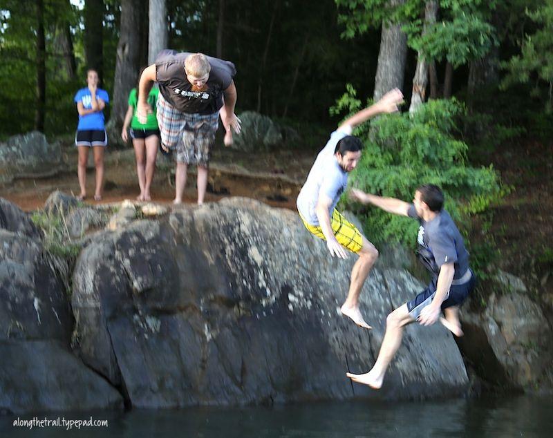 Lake trio