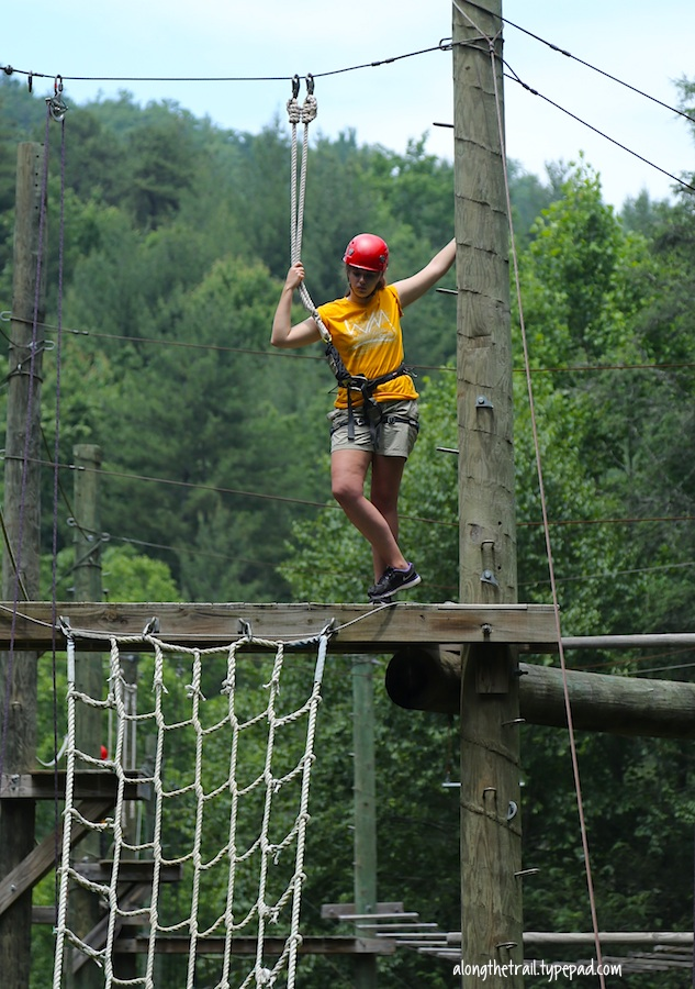 Wm summer staff high ropes