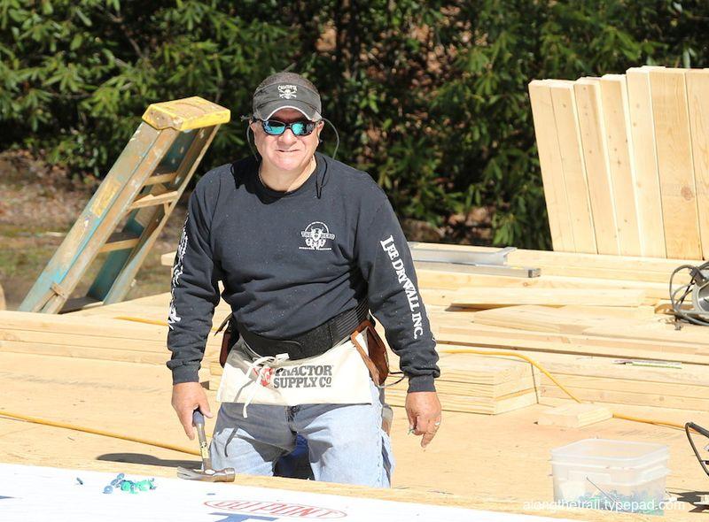 Volunteer Cabin Build 9