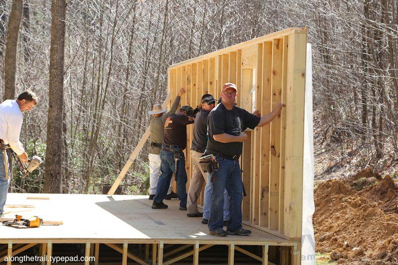 Volunteer Cabin Build 10