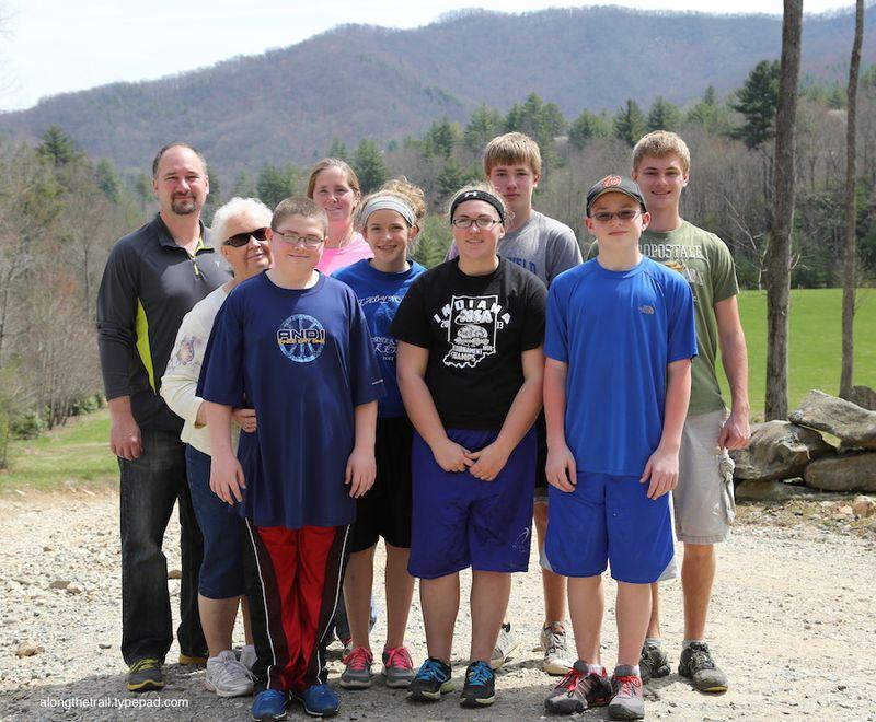 Work Team at Whisper Mountain Camp 8