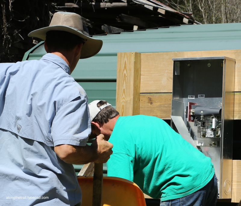 Electrician Serving at Whisper Mountain Camp