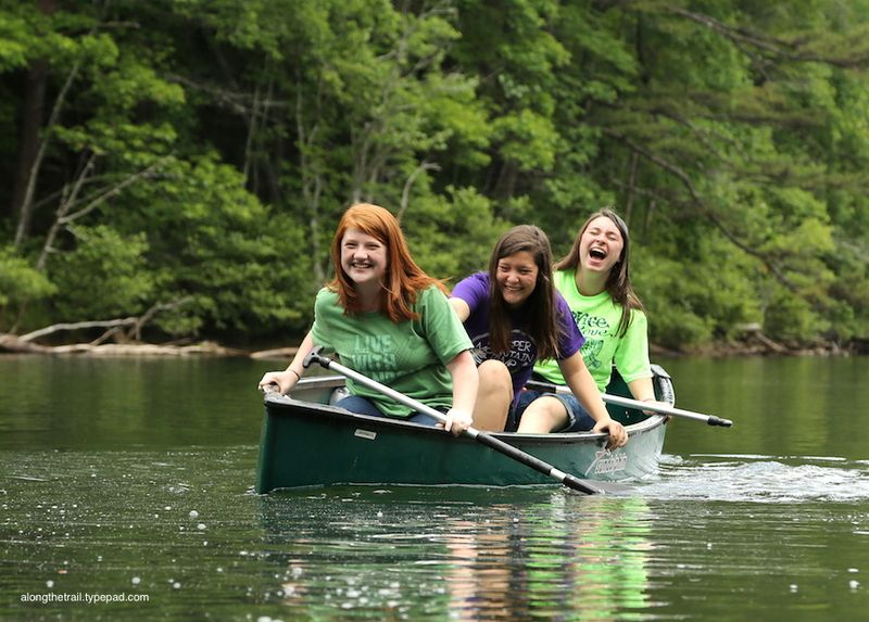 Whisper Mountain Canoe Girls