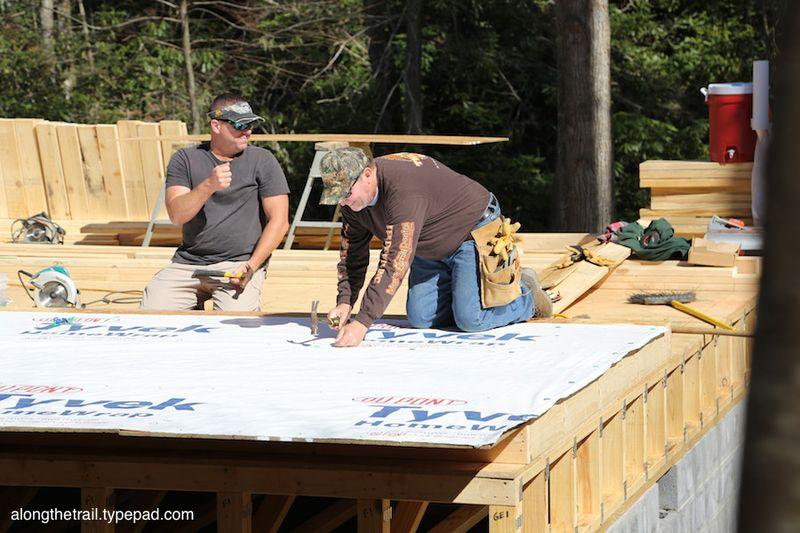 Volunteer Cabin Build 12