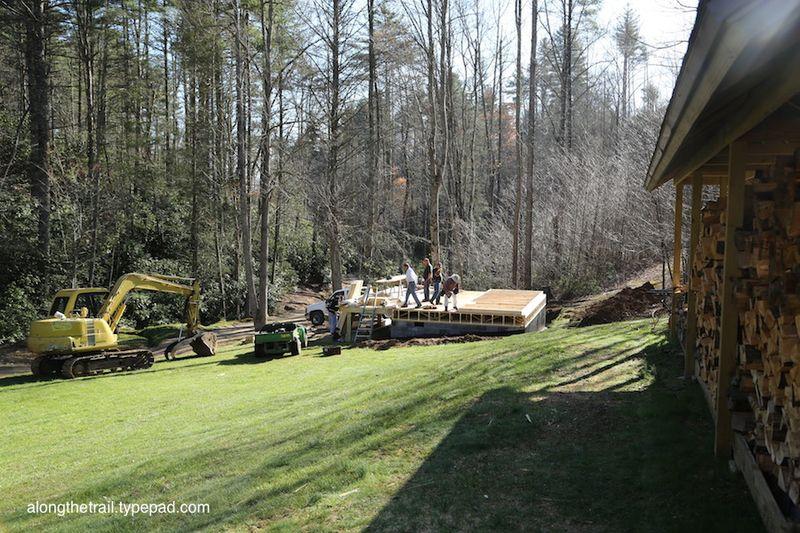 Volunteer Cabin Build 6
