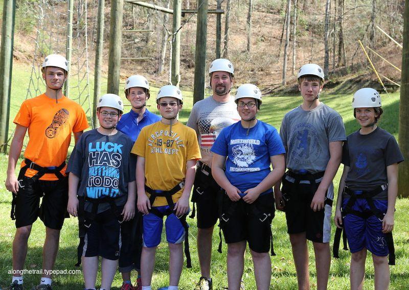 Work Team at Whisper Mountain Camp 7