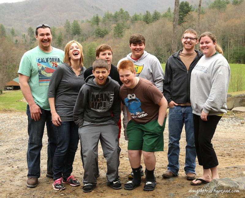 Family Getaway at Whisper Mountain Camp