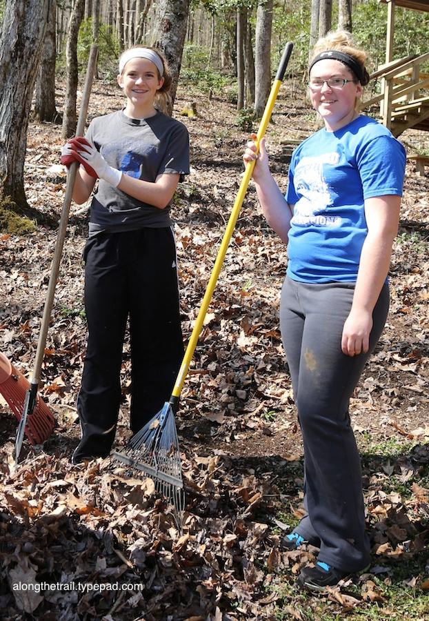 Work Team at Whisper Mountain Camp 4